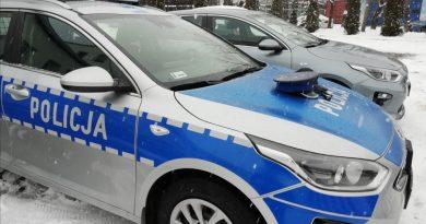 Nowe radiowozy w Bełchatowskiej Policji.