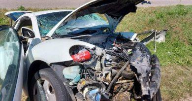 """Poważny wypadek na """"skrzyżowaniu """"śmierci""""."""